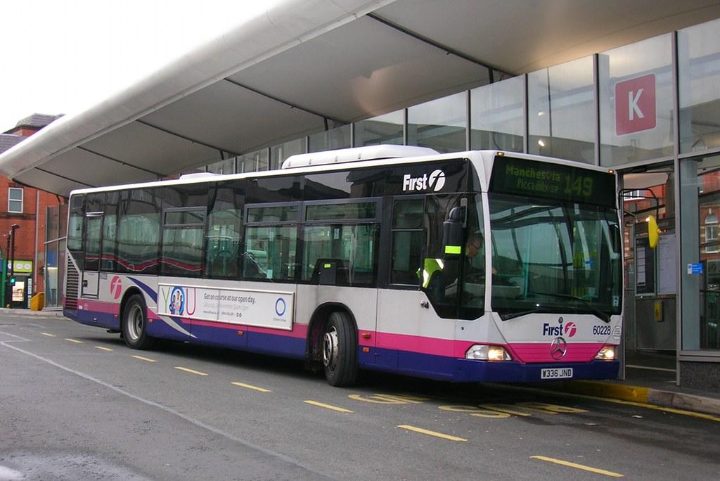 First Greater Manchester, Mercedes Citaro W336 JND, Oldham ...