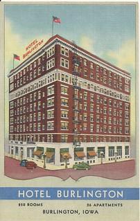 Burlington Hotel Rooms