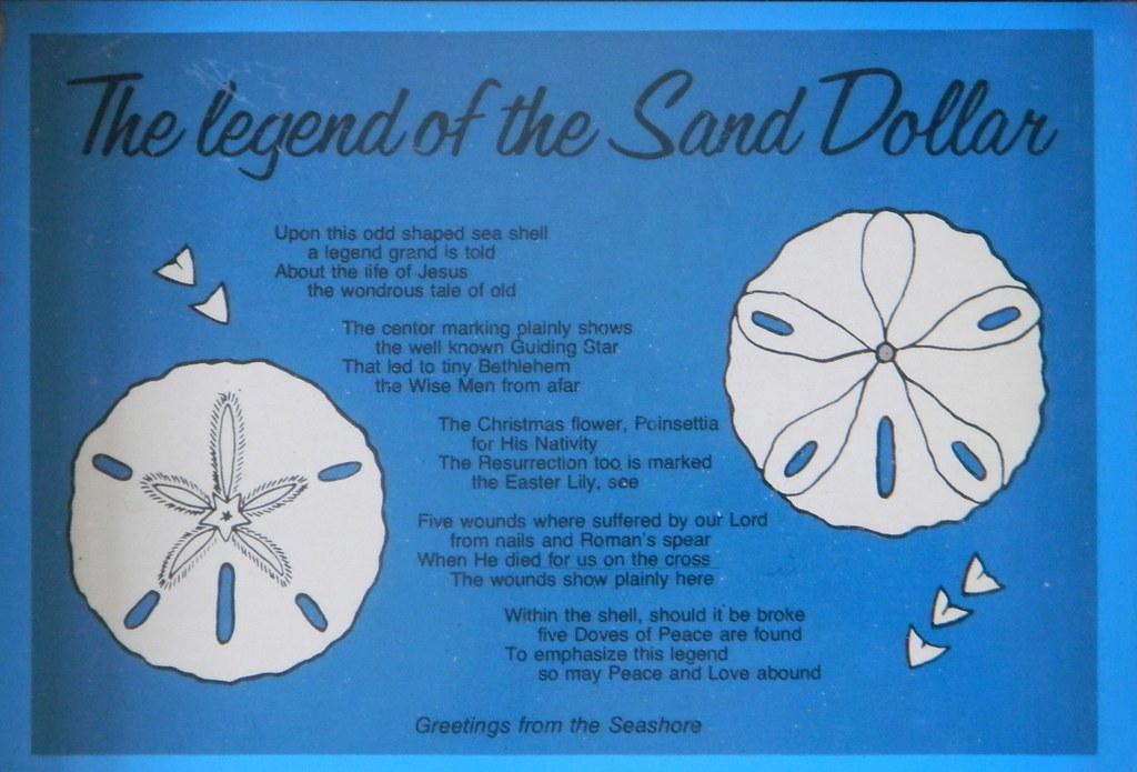 Legend Of The Sand Dollar Dora Flickr
