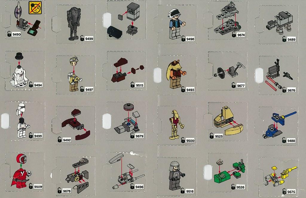2012 Advent Calendar Instructions Brickset Flickr