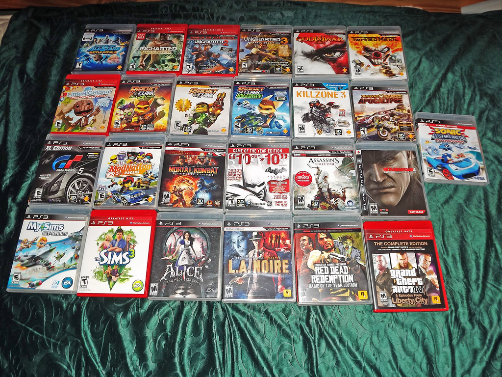 Sony PS3 Games | Will Crew | Flickr