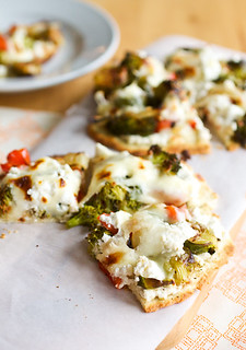 Roasted Veggie Pizzas | by Smells Like Home