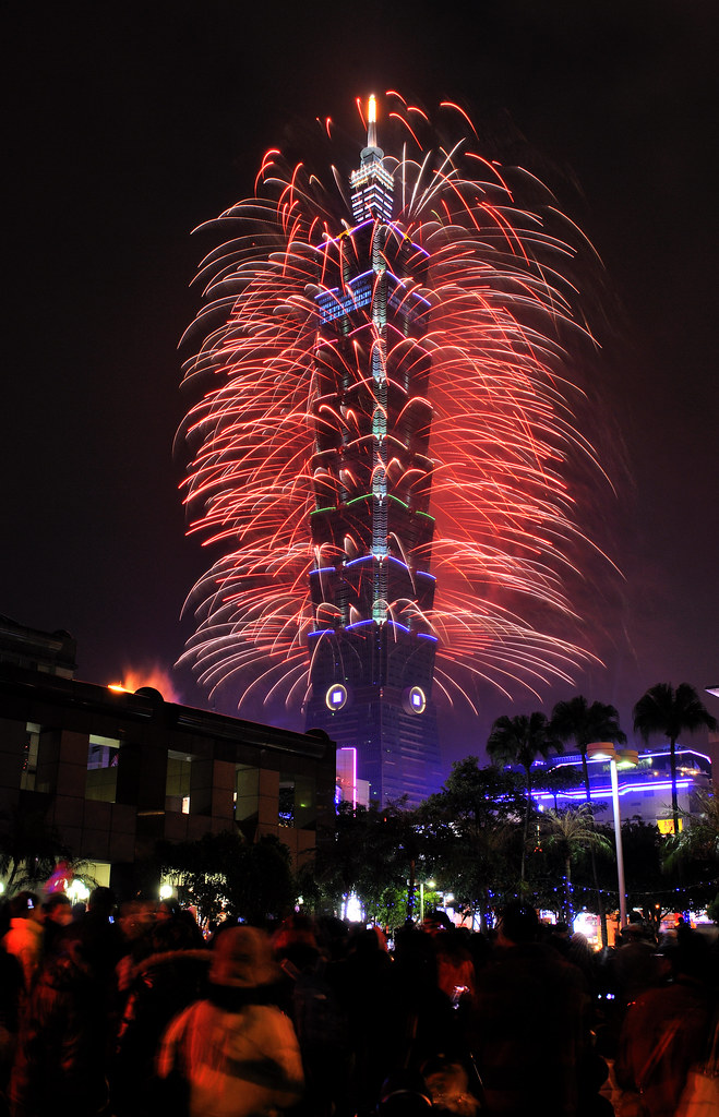 Taipei 101 New Year Fireworks 2013 | Epic Fireworks | Flickr