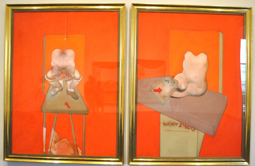 Francis Bacon 1982 84 Diptych Study Of The Human Body Flickr