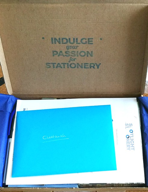 Spotlight Stationery box August 2016
