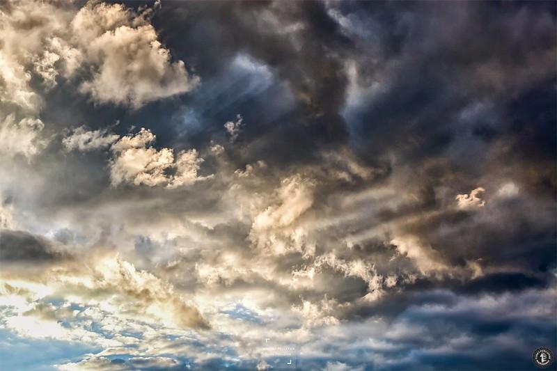 Cloud sunlight landscape