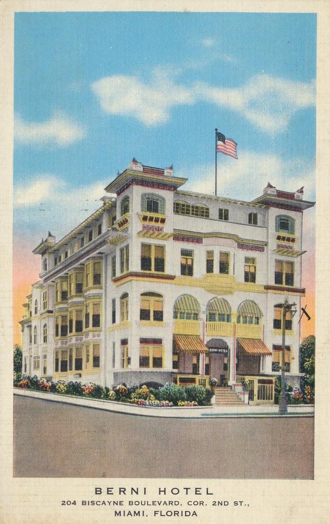 Berni Hotel - Miami, Florida