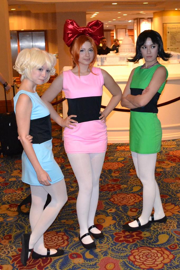 Powerpuff Girls Cosplay  Anime Usa 2012 Day 1  Jack -1525