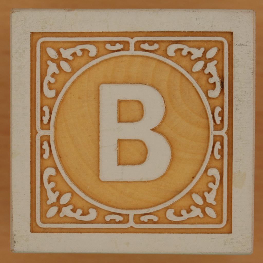 John Crane Classic Block Letter B Leo Reynolds