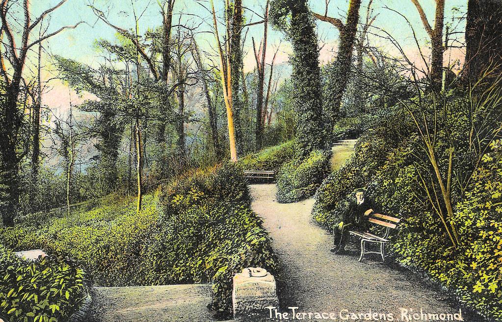 Richmond terrace gardens a postcard published by for 14 m4s garden terrace