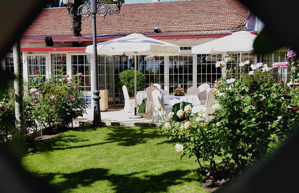 Exteriores Restaurante El Jardin Del Mesonero Flickr