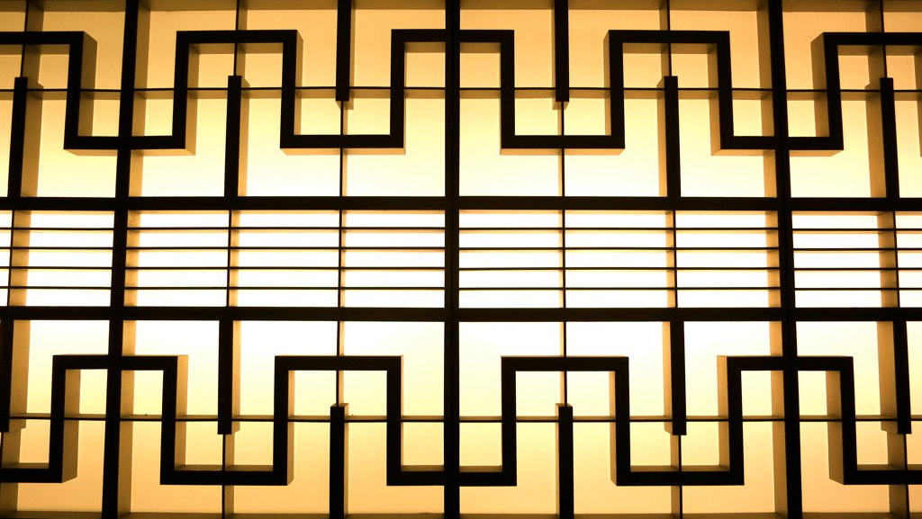 art deco metal wall panel | kansas city music hall, 1936 | Flickr