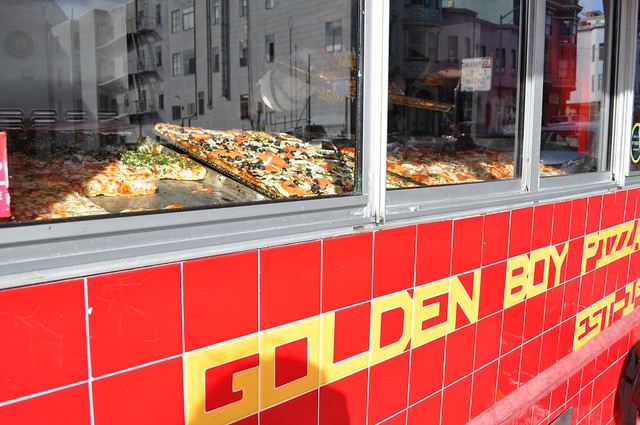 Golden Boy Pizza in San Francisco