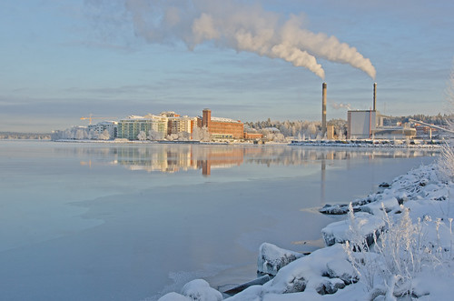 Lapinniemi and Naistenlahti Power Plant (Tampere, Finland)… | Flickr