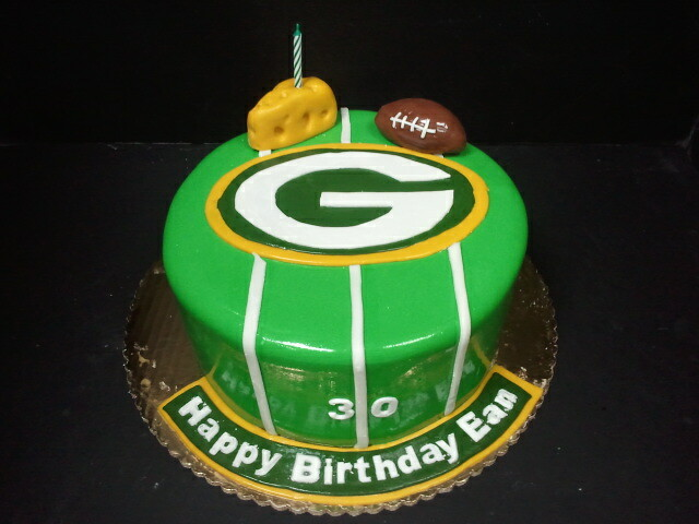 Green Bay Birthday Cake