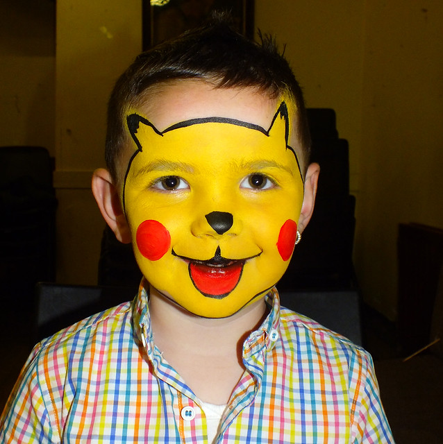 Pikachu Face Painting Flickr Photo Sharing
