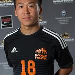 Yuya Nakano, WolfPack Men's Soccer