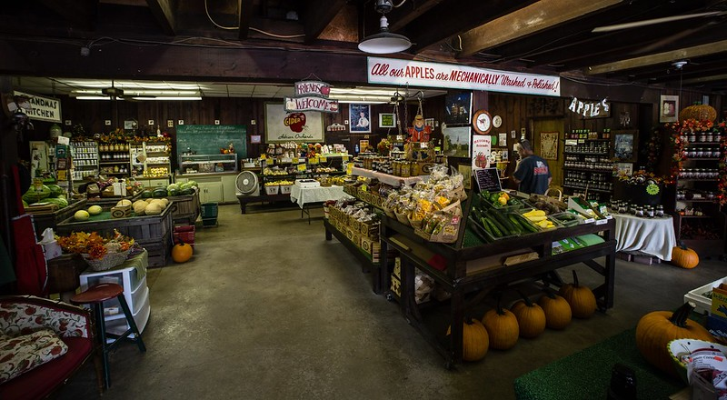 Adrians Orchard is located at 500 West Epler Ave., Indianapolis, IN 46217. They are open every day of the week, check their website for hours and special events.