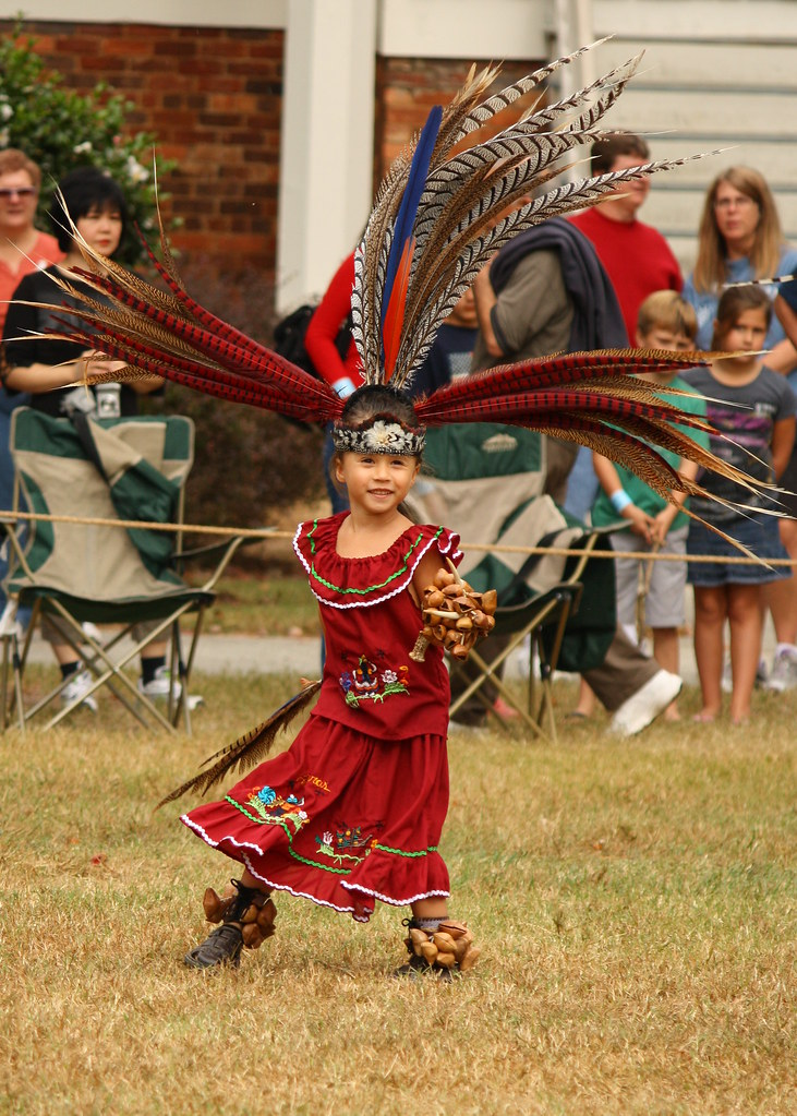 Aztec Indian This Little Girl From The