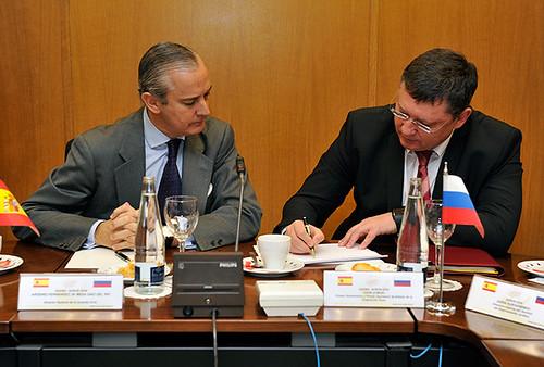 El director general de la guardia civil se ha reunido con for Ministerio del interior espana