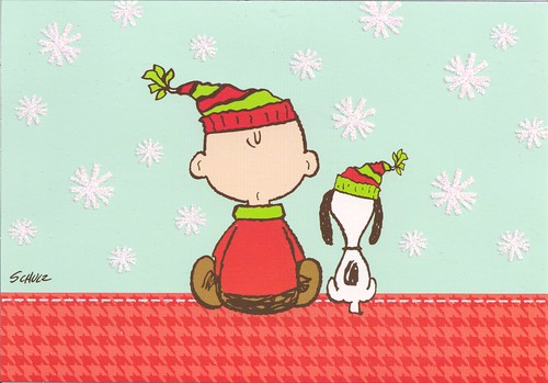 Charlie brown amp snoopy christmas by mailbox happiness angee at