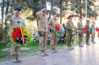 VETERANS DAY MEMORIAL SERVICE AT ISAF HQ, KABUL, AFGHANSITAN. 2012/11/11 | by ResoluteSupportMedia