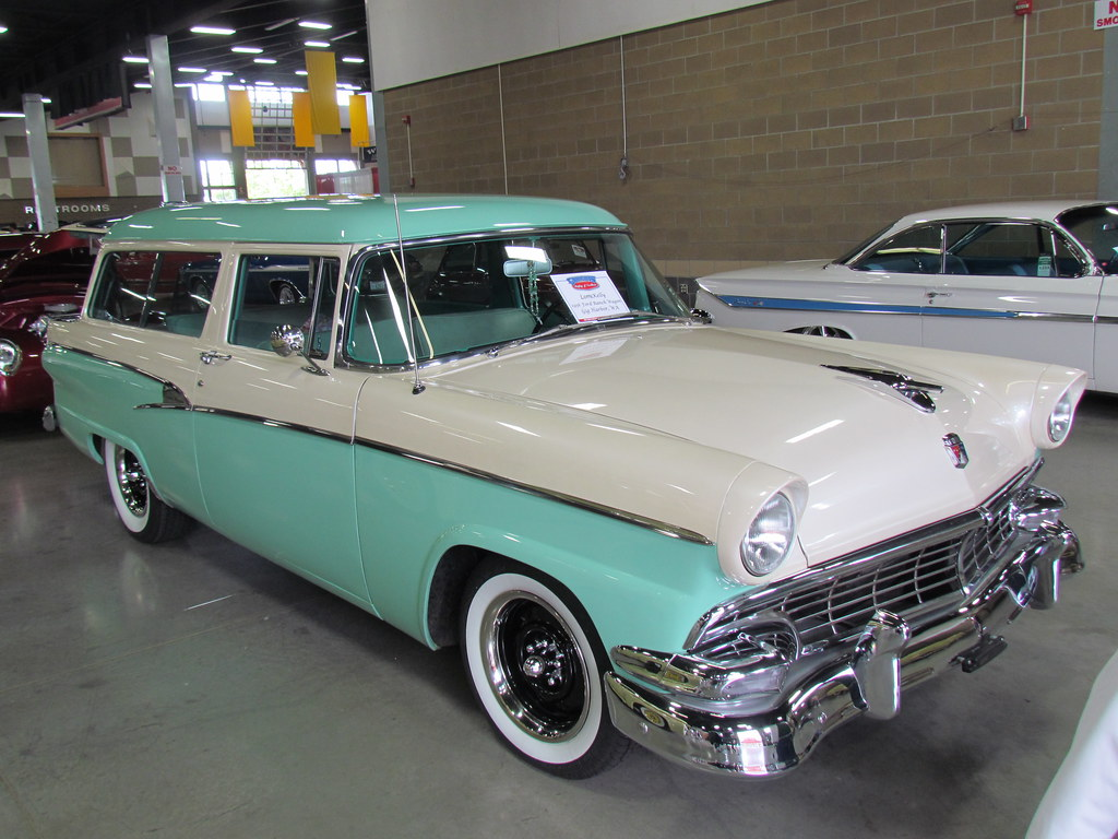 1956 ford 2 door ranch wagon lorrie kelly gig harbor wa for 1956 ford 2 door station wagon