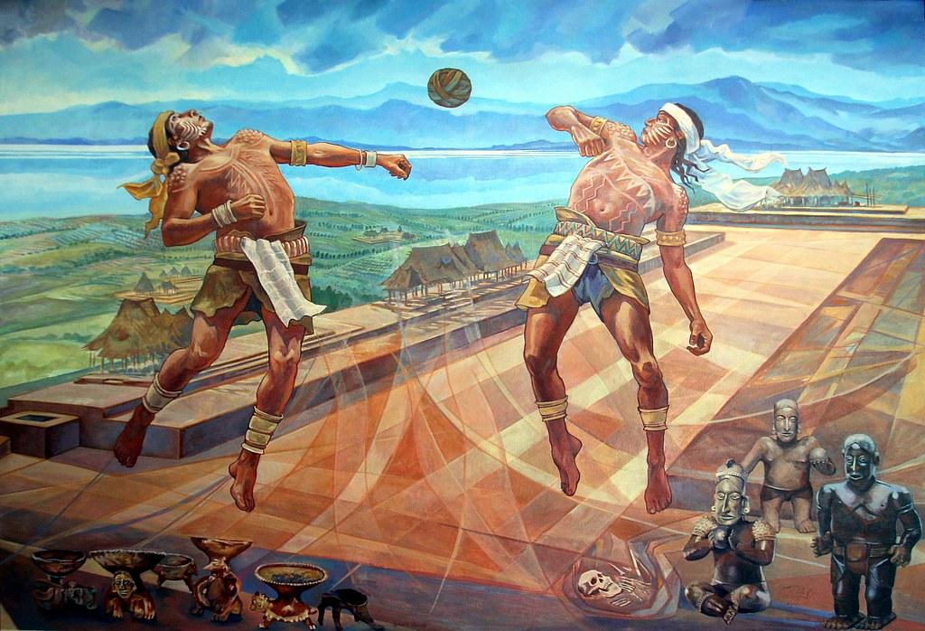 Imagenes De Los Warriors >> Juego de Pelota | Mural del Juego de Pelota en el Centro Int… | Flickr