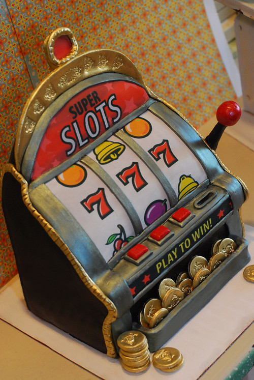Slot Machine Cake Pan