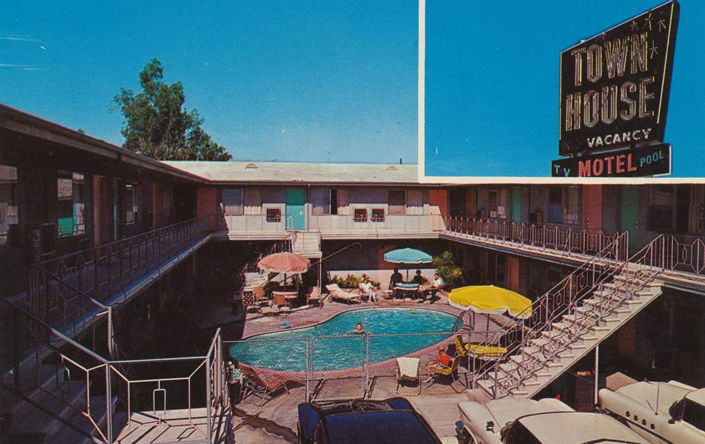 Town House Motel - Van Nuys, California