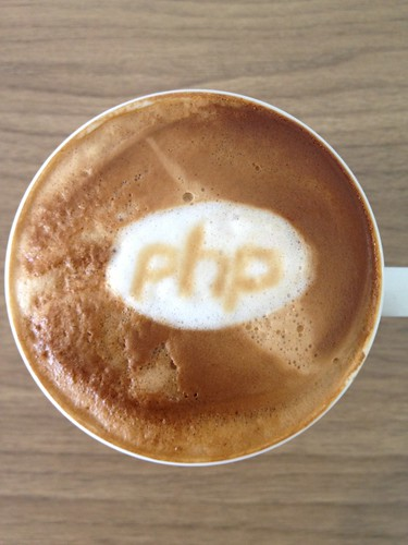 Today's latte, PHP. | by yukop