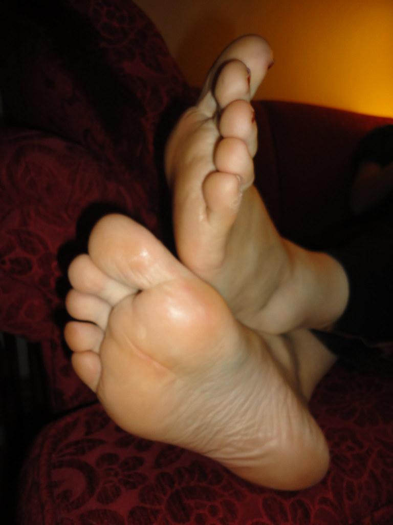 Foot fetish cream-9105