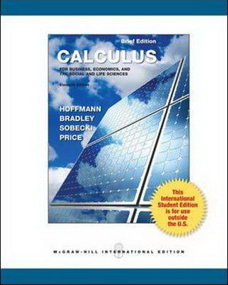 Calculus for business economics and the social and life flickr hoffman calculus for business economics and the social and life sciences 11th edition hoffman fandeluxe Choice Image