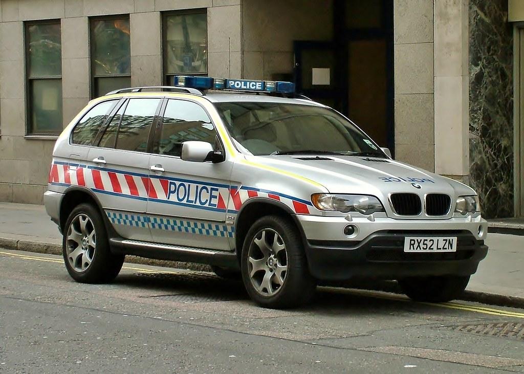 Bmw X5 Police Car Rx52 Lzn Demonstrator Bmw X5 Police Car Flickr