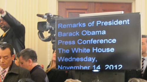 Obama's Teleprompter | by WilliamKoenig
