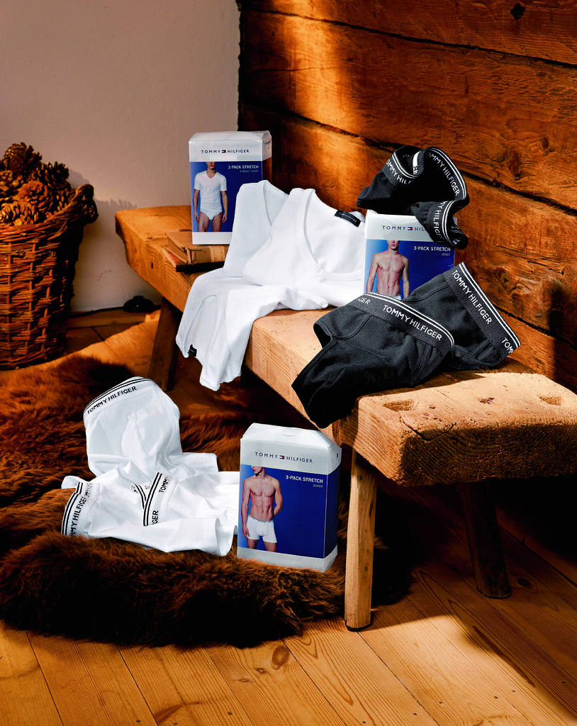 Wäsche 3-er Packs von Tommy Hilfiger bei HIRMER