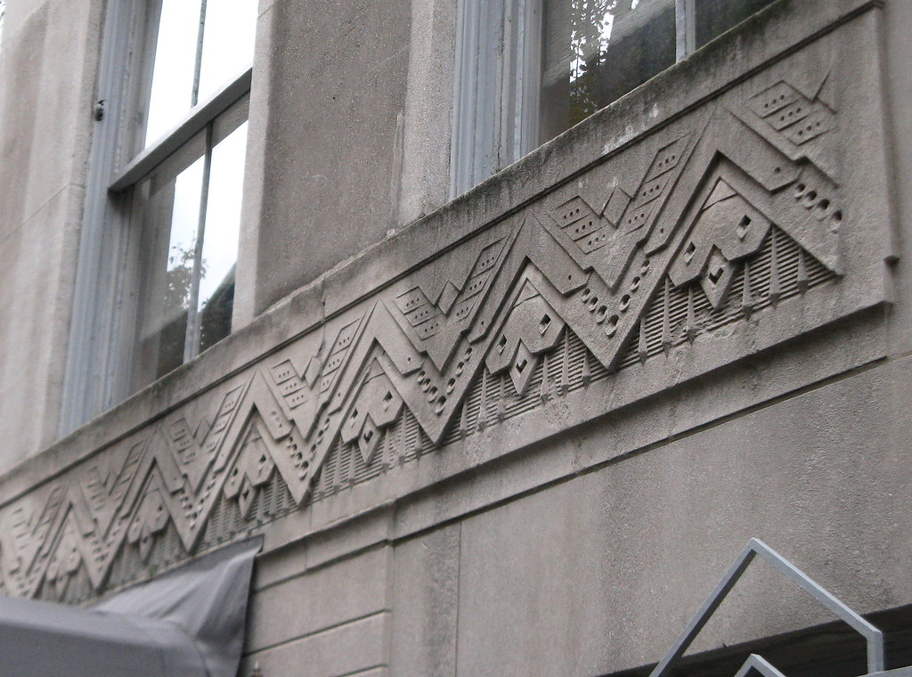 art deco ornament