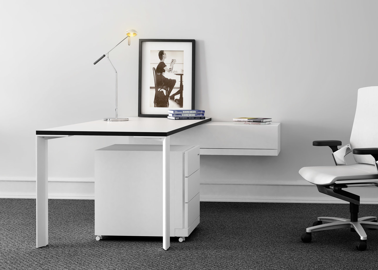 le bureau contemporain flickr. Black Bedroom Furniture Sets. Home Design Ideas