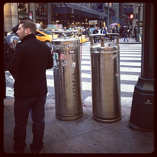 What's with the large nitrogen tanks on various NYC street corners? | by nep
