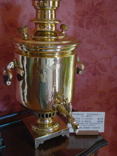 Inside the  Italianate Home.A Russian Samovar 1870's | by Chicago Rail Head
