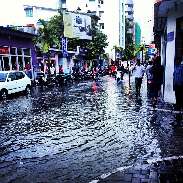 flooding in the maldives Who will be most affected by rising sea levels maldives is ranked as one of the most endangered countries in the world due to rising sea levels and flooding brought about by climate change.