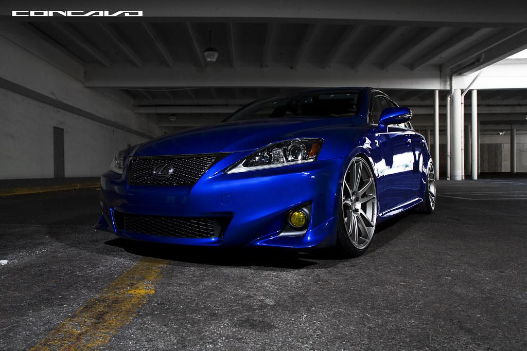 Lexus F Sport >> Lexus Is 250 F Sport On Concavo CW-S5 | Lexus Is 250 F ...