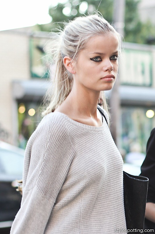 Spotted Norwegian Model Frida Aasen  I Spotted This
