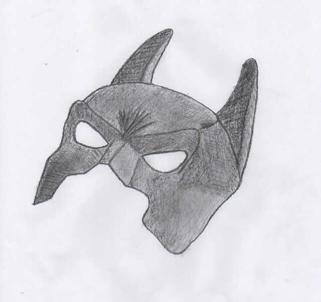 Batman Mask Pencil Sketch | adfilms97 | Flickr - Photo ...