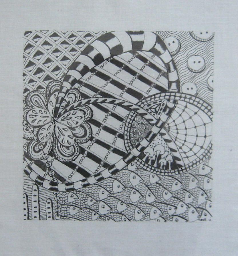 zentangle, zendoodle, tangle designs, tangle patterns, art? Flickr