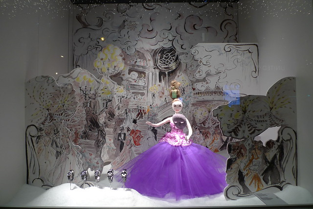 Vitrines de no l dior au printemps paris novembre 2012 flickr photo sharing - Vitrine de noel paris ...