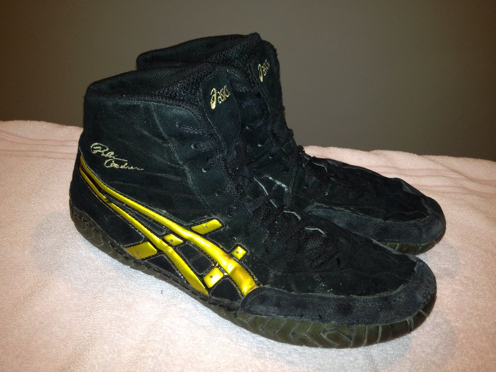 Asics Rulon Wrestling Shoes Size