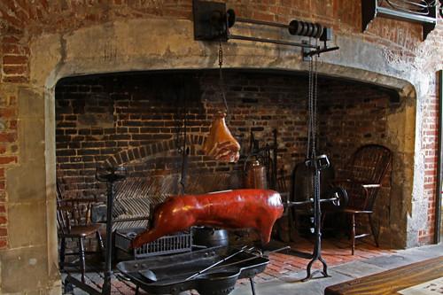 Tudor Fireplace | Image taken in the Tudor Christchurch ...