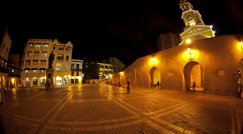 Cartagena by night | by The Colombian Way