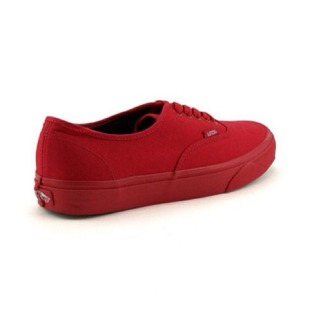 All Red Vans @v...